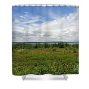 View Of Maine Bay Shower Curtain