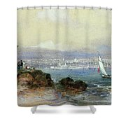View Of Sydney Harbour Shower Curtain