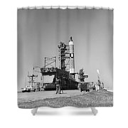 View Of The Gemini-titan 3 Shower Curtain
