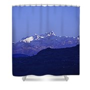 View Of The Himalayas Shower Curtain