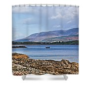View Of The Isle Of Arran Shower Curtain