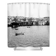 View Of Tophane - Istanbul - From The Sea - Turkey Shower Curtain