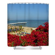 View Over Paradise Shower Curtain