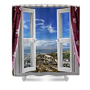 View To The World Shower Curtain