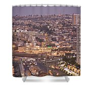 Views From Paseo Atkinson, On Cerro Shower Curtain