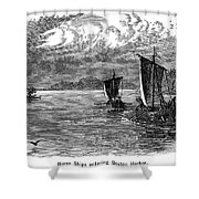 Vikings: North America Shower Curtain