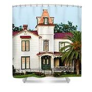 Villa Villekulla The Pippi Longstocking House Amelia Island Florida Shower Curtain