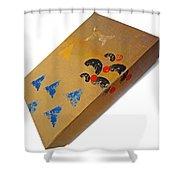 Village Box Shower Curtain