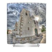 Village Church Shower Curtain