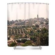 Village Of Beitin Shower Curtain