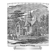 Village Schoolhouse, C1840 Shower Curtain
