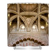 Villaviciosa Vaulted Dome Shower Curtain