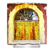 Villefranche Du Perigord Shower Curtain