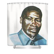 Vincent Mulago Shower Curtain