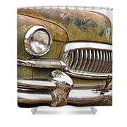 Vintage 1951 Nash Ambassador Front End 2 Shower Curtain