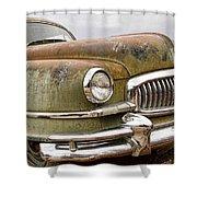 Vintage 1951 Nash Ambassador Front End Shower Curtain