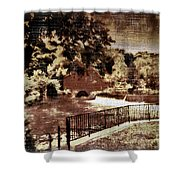 The Red Mill  Bucks County Nj  Shower Curtain