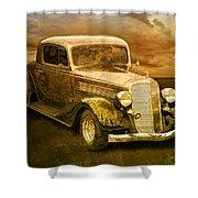 Vintage Automobile No.007 Shower Curtain