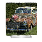 Vintage Automobile No.0488 Shower Curtain