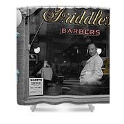 Vintage Barbershop 2 Shower Curtain