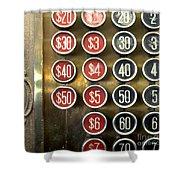 Vintage Cash Register Shower Curtain