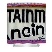 Vintage Dance Sign Shower Curtain