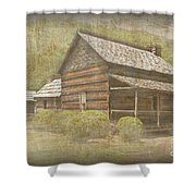 Vintage Davis House Shower Curtain