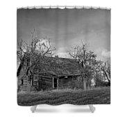 Vintage Farm House Shower Curtain