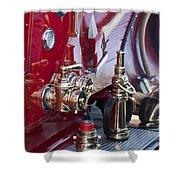Vintage Fire Truck 1 Shower Curtain
