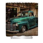Vintage Green Dream Shower Curtain