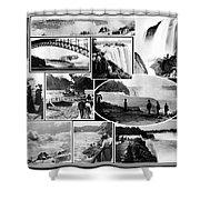 Vintage Niagara Falls Shower Curtain