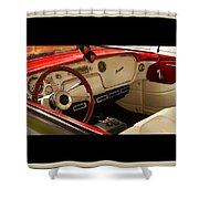 Vintage Packard Interior Shower Curtain