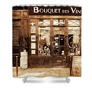 Vintage Paris 4 Shower Curtain