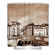 Vintage Paris 8 Shower Curtain by Andrew Fare