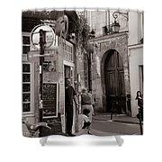 Vintage Paris1 Shower Curtain
