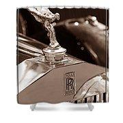Vintage Rolls Royce 1 Shower Curtain