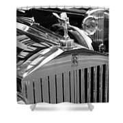 Vintage Rolls Royce 2 Shower Curtain