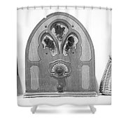 Vintage Shelf Shower Curtain