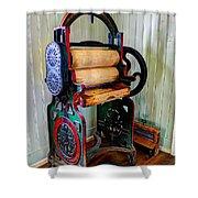 Vintage Wringer Shower Curtain