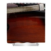 Viola 2 Shower Curtain
