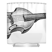 Viola Shower Curtain