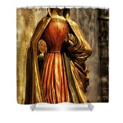 Virgin Mary Shower Curtain