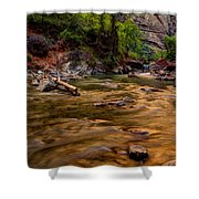 Virgin River Zion Shower Curtain