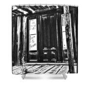 Virginia City Ghost Town Door II Shower Curtain