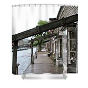Virginia City Montana 03 Shower Curtain