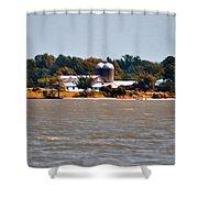 Virginia Farm Shower Curtain