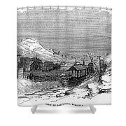 Virginia: Salt Mine, 1857 Shower Curtain