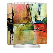 Vision Constructed Shower Curtain