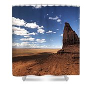 Visions Of Monument Valley  Shower Curtain