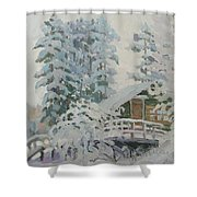 Visiting Fairy Tales Shower Curtain